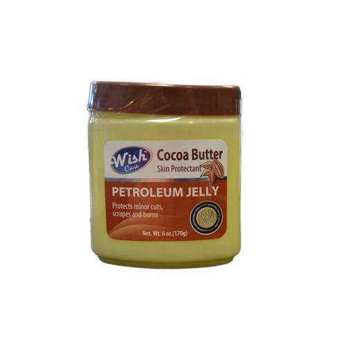 Wholesale WISH PETROLEUM JELLY WITH COCOA BUTTER 6 OZ /24 CT