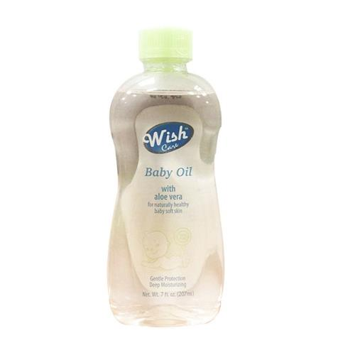 Wholesale WISH BABY OIL WITH ALOE VERA 7 OZ