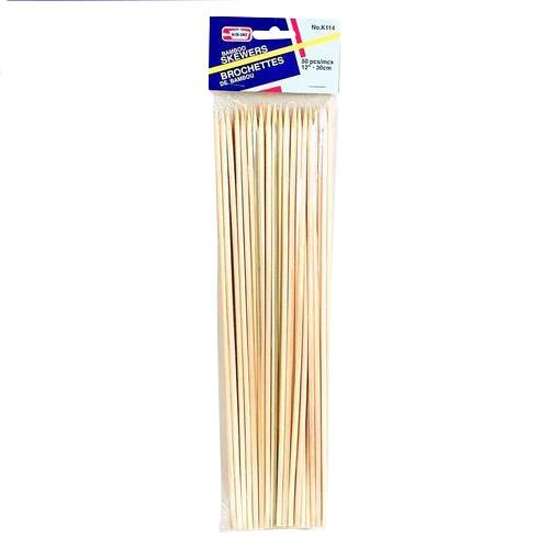 Wholesale Bamboo Skewers Thick 12""