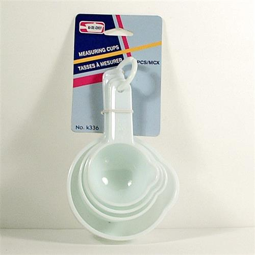 Wholesale 4 Piece Plastic Measuring Cups