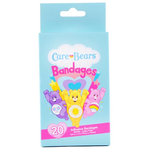 "Wholesale Care Bear Bandages 3/4"""""""" x 3"""""""" Sterile-Latex Free"