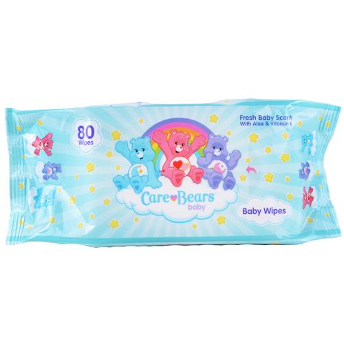 Wholesale Care Bears Baby Wipes Fresh Baby Scent with Aloe &