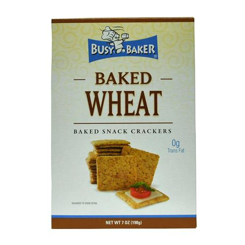 Wholesale Busy Baker Wheat Crackers