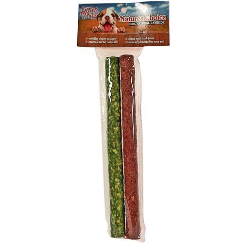 "Wholesale Nature's Choice Rawhide Munchy Stick 10"""""""""