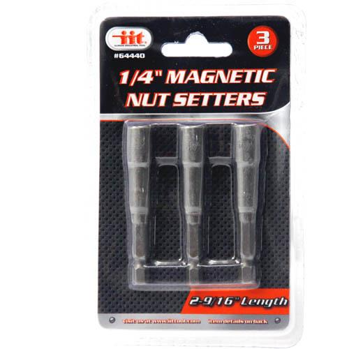 "Wholesale 3pc 1/4"""" Mag Nutsetters"
