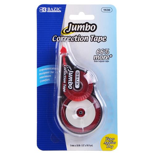 Wholesale Correction Tape Jumbo 5mm x 394""