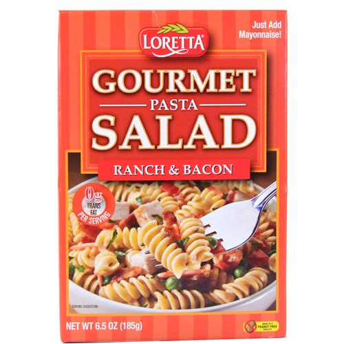 Wholesale Loretta Gourmet Pasta Salad Ranch & Bacon  EXP 11/12/2016