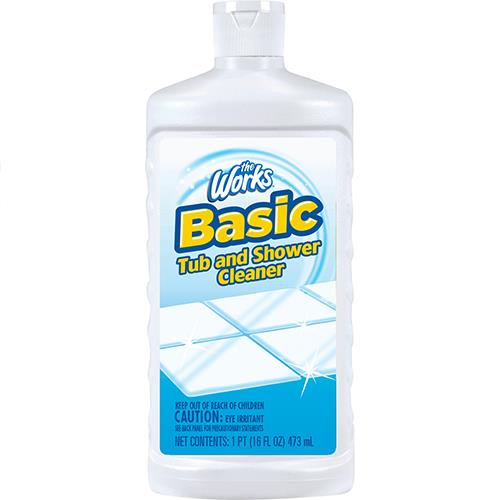 Wholesale The Works Basic Tub & Shower Cleaner