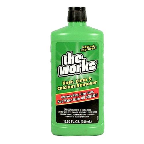 Wholesale The Works Rust Lime & Calcium