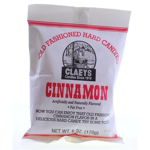 Wholesale Claeys Cinnamon Hard Candy -Peg Bag
