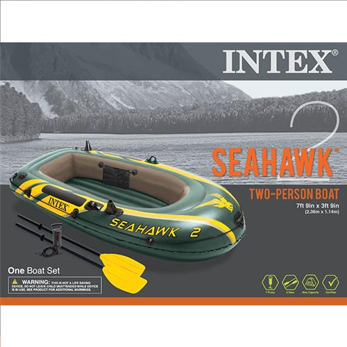 "Wholesale Seahawk 2 Set 2/Oars & Pump 7' 9"" x 3' 9"" x 1' 4"""