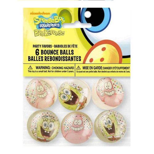 Wholesale 6PK HIGH BOUNCE BALLS SPONGE B