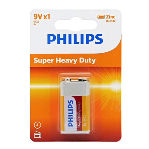 Wholesale Phillips 9V Batteries Super Heavy Duty 1 ct