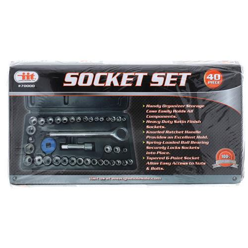 Wholesale 40PC SOCKET SET