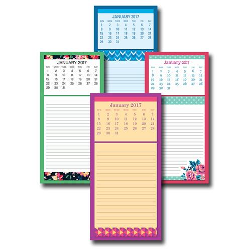 Wholesale 2017 MAGNETIC LIST PAD CALENDA