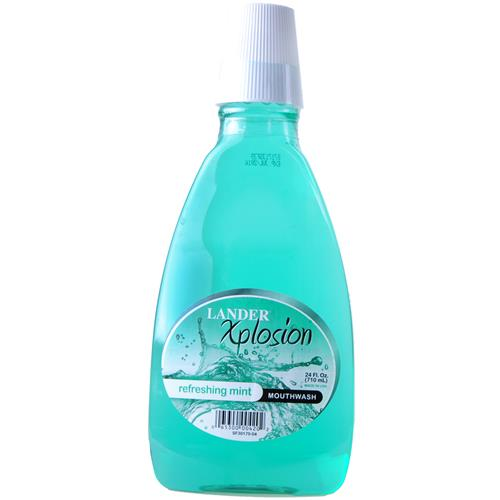 Wholesale Lander Mouthwash Mint Green Xplosion