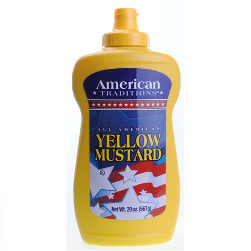 Wholesale American Traditions Yellow Mustard