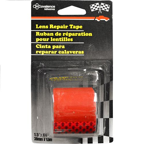 "Wholesale RED LENS REPAIR TAPE 1.5"" x60"""
