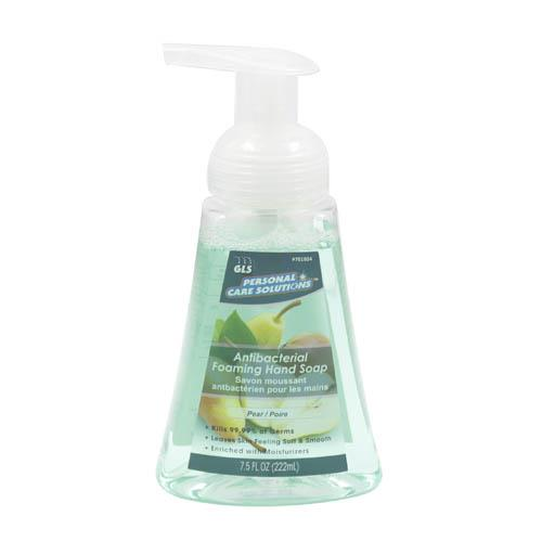 Wholesale 7.5oz Antibacterial Foaming Hand Soap Pear