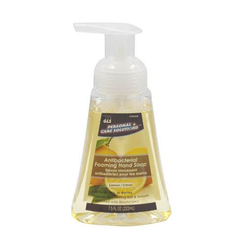 Wholesale 7.5oz Antibacterial Foaming Hand Soap Lemon