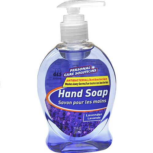 Wholesale 7.5oz Anitbacterial Hand Soap Lavender