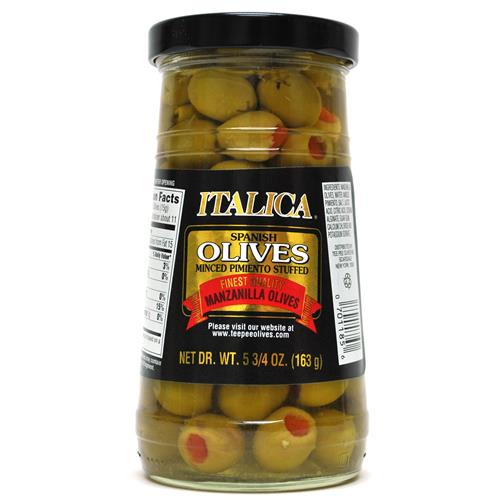 Wholesale Italica Stuffed Manzanilla Olives Finest Quality