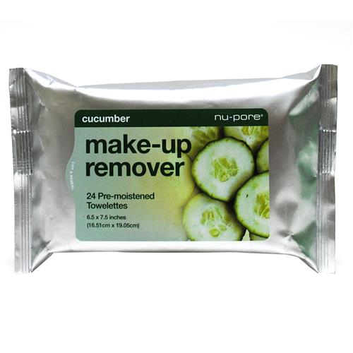 Wholesale Nu-Pore Cucumber Make-Up Remover Pre-Moistened Tow