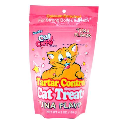 Wholesale EXPIRED 7/21/16 - Cat Cafe Tartar Control Tuna Flavor Cat Treats