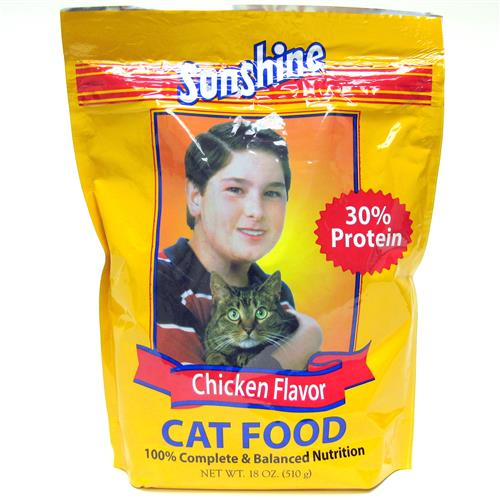 Wholesale Sunshine Chicken Flavored Cat Food Pouch