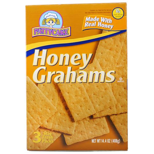 Wholesale Patty Cake Honey Graham Crackers