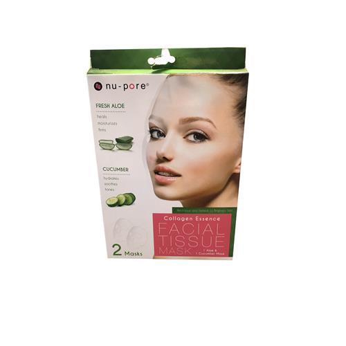 Wholesale Nu-Pore K-Beauty Face Masks Ass't in PDQ