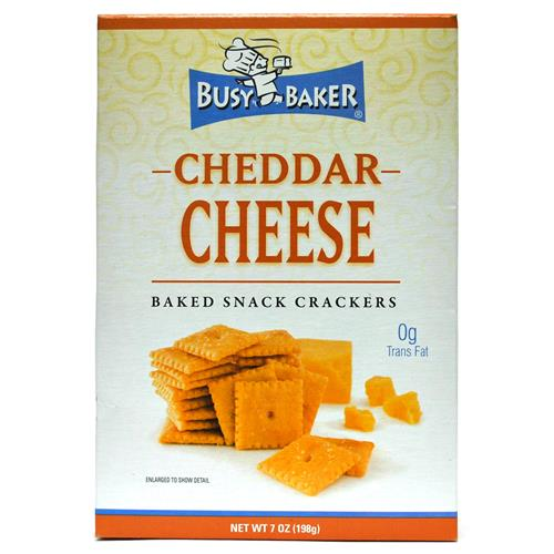 Wholesale Busy Baker Cheddar Cheese Crackers