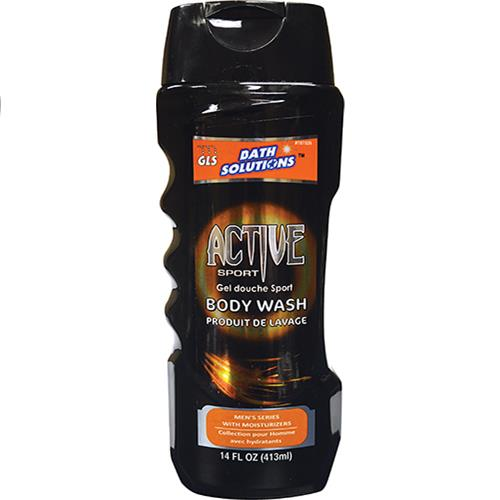 Wholesale 14oz MENS BODY WASH-ACTIVE SPO