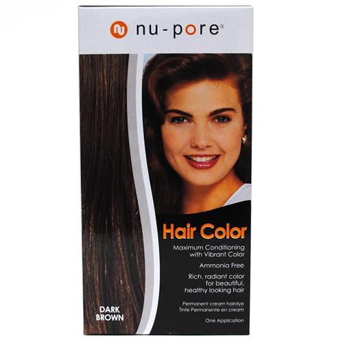 Wholesale Nu-Pore Hair Color - Dark Brown