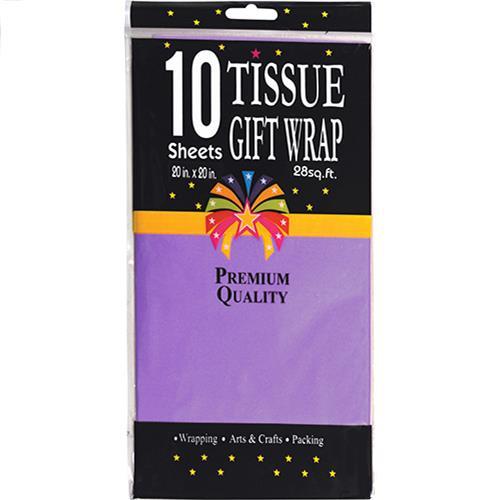 """Wholesale PURPLE TISSUE PAPER 20"""" x 20"""""""