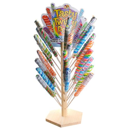 Wholesale Tasty Twisty Pops with Free Tree