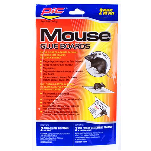Wholesale PIC Mouse Glue Boards 2 ct.