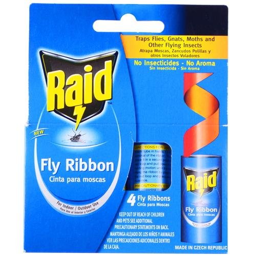 Wholesale Raid Fly Ribbon 4 ct