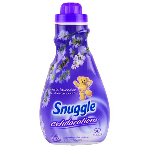 Wholesale Snuggle Liquid Exhilarations White Lavender/Sandalwood Fabric Softener 50 Loads