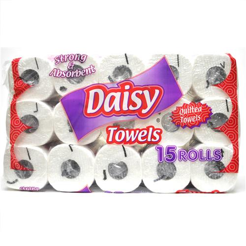 Wholesale Daisy 2-Ply Paper Towel - 80 sheets