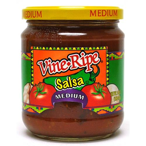 Wholesale Vine Ripe Salsa Medium - Jar