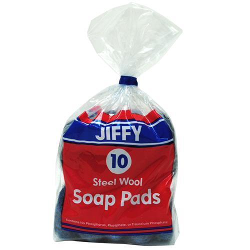 Wholesale Jiffy Soap Pads in Plastic Bag (SOS)