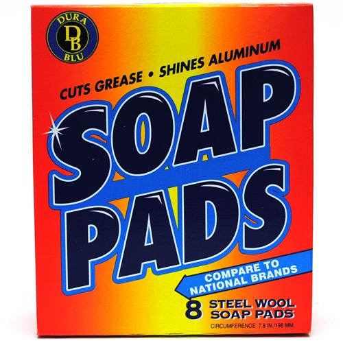 Wholesale DURA-BLU Boxed (SOS) Soap Pads