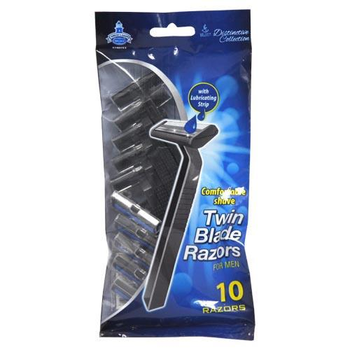 Wholesale 10pc MENS TWIN BLADE RAZORS