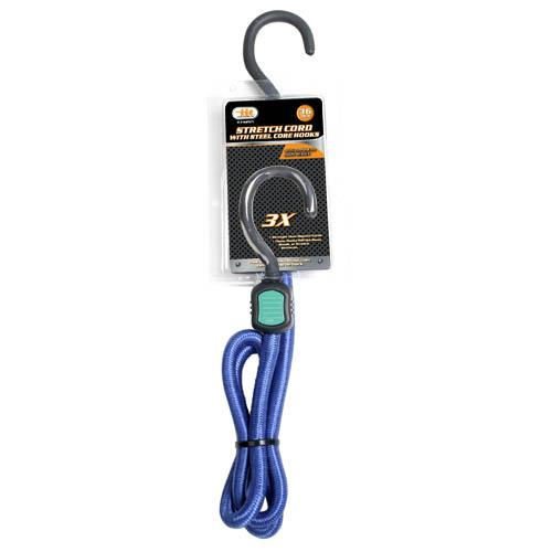 Wholesale Stretch Cord with Steel Core Hooks
