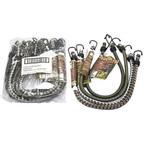 "Wholesale Camo Bungee Cord 24"" X 1/2"""