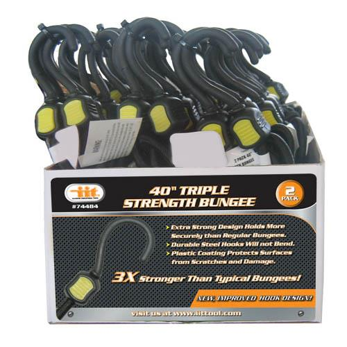 Wholesale 2PK Triple Strength Bungee 40""""