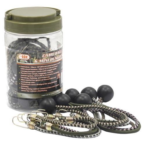 Wholesale 20pc CAMO BALL & MINI BUNGEE S