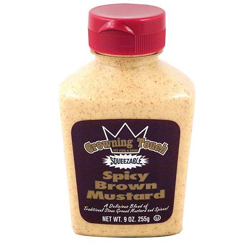 Wholesale Crowning Touch Spicy Brown Mustard
