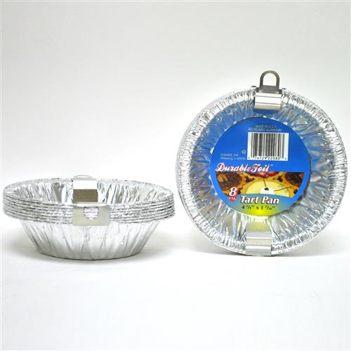 "Wholesale Foil Tart Pan 4.37""x1.81"""